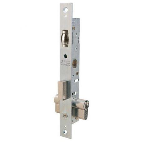 Cerradura Tesa 2206 13,5mm embutir metálica rodillo y palanca zincado