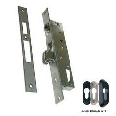 Cerradura Tesa 4246 35 3AI basculante gancho reforzado y rodillo inoxidable
