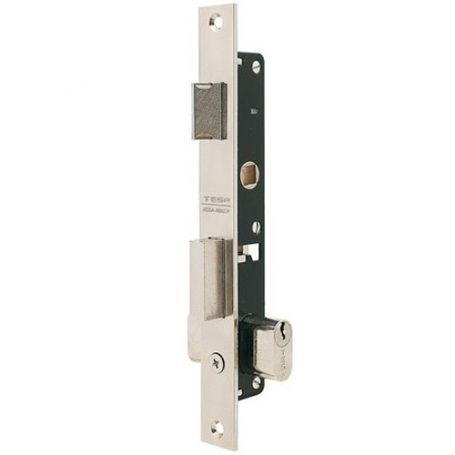 Cerradura Tesa 2220 entrada 11,5mm palanca y picaporte perfil metálico