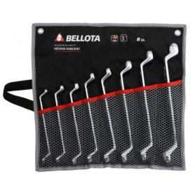 Juego de 10 llaves estrella acodadas Bellota 6492-10 BS