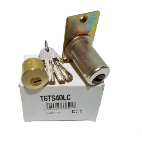 Cilindro T60 redondo para cerradura TS T6TS40LC TESA