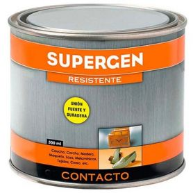 Pegamento de contacto Supergen amarillo bote 500ml