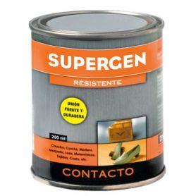 Pegamento de contacto Supergen amarillo bote 250ml