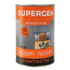 Pegamento de contacto Supergen bote 1 litro