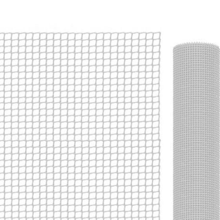 Malla para balcones blanca 1x25mt 4,5x4,5mm Intermas