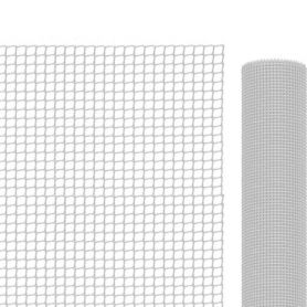 Malla para balcones blanca 1x5 mts 19x19 mm Intermas