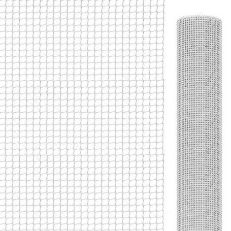 Malla para balcones blanca 1x25 mt 9x9 mm Intermas