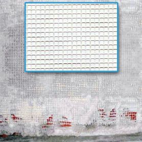 Malla para revocos blanca 1x50 Intermas