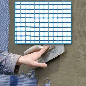Malla para revocos fivermas 10 mortero azul 1x50m Intermas