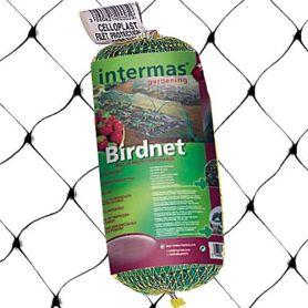 Malla anti-pajaros birdnet 8x10m negra Intermas