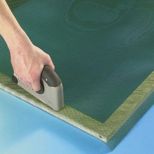 Malla mosquitera plastico 1x50m verde mosquiplast intermas - Malla plastica precio ...