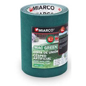 Cinta union cesped artificial macgreen 150mm x 10m Miarco