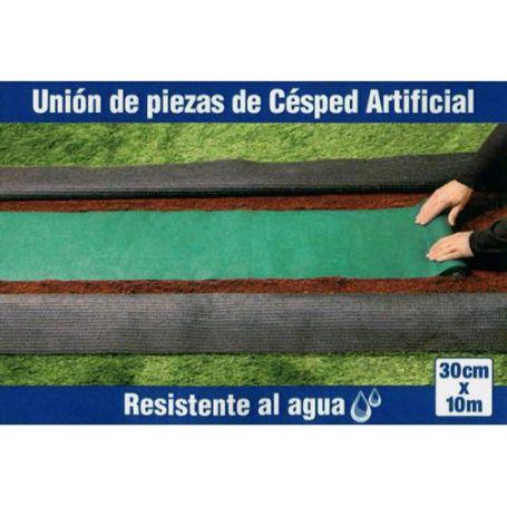 Banda para unir cesped artificial 30cmx10m Ceys