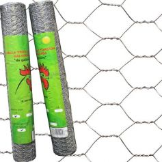 Malla triple torsion galvanizada (1x50mt)