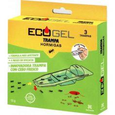 Ecogel trampa para hormigas - Incluye 3 trampas
