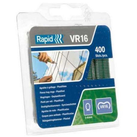 Anillos VR16 2-8mm galvanizado - blister 400 piezas Rapid