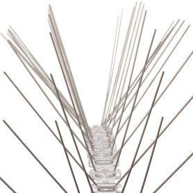Tiras antipalomas con puntas de acero inoxidables 50cms Central de Enrejados