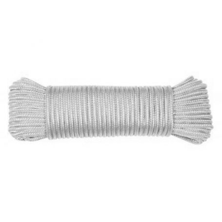 Madeja de cuerda polipropileno trenzado blanca 15mts HCS