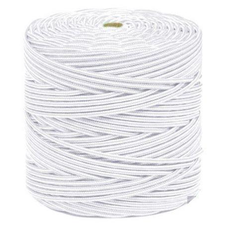 Cuerda polipropileno trenzado 5mm blanca 200mts HCS