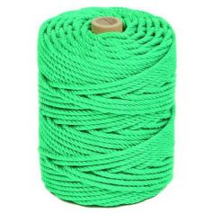 Cuerda polietileno 5mm Verde 100mts HCS