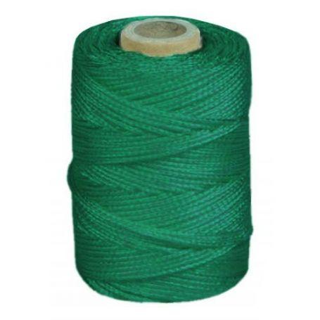 Cuerda de atirantar verde 200mts bobina HCS