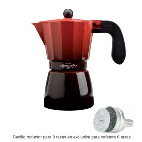 Ecofund cafetera 6 tazas induccion centrex