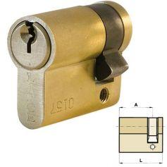 Medio cilindro europerfil C0 50mm (40x10) amaestrado IBL Lince