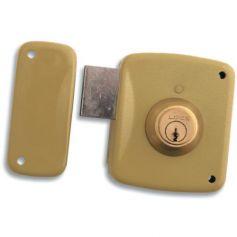 Cerradura Lince de sobreponer 5124-a esmaltado 80mm izquierda lince