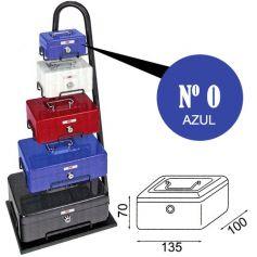 Caja de caudales fac n.0 super azul