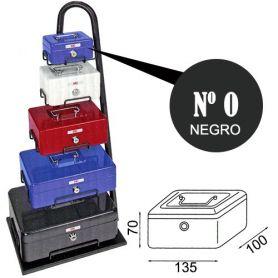 Caja de caudales fac n.0 super negra