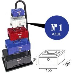 Caja de caudales fac n.1 super azul