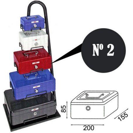 Caja de caudales fac n.2 super negra