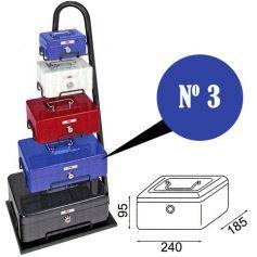 Caja de caudales fac n.3 super azul