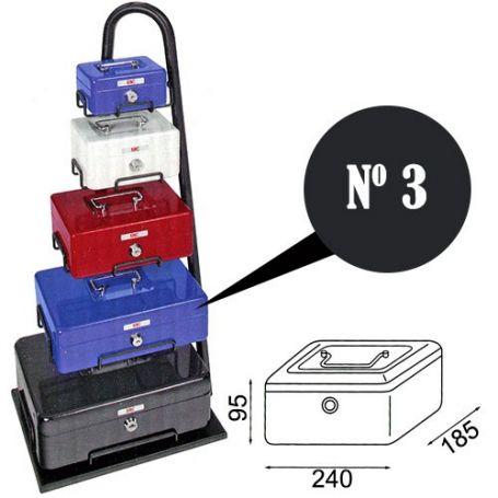 Caja de caudales fac n.3 super negra