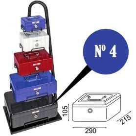 Caja de caudales fac n.4 super azul