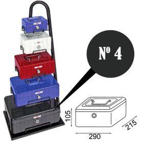Caja de caudales fac n.4 super negra