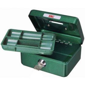 Caja de caudales para niños verde fac