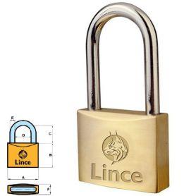 Candado largo llave serreta modelo 301-50 Lince