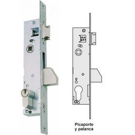 Cerradura Cisa 04040 20mm carpinteria metalica picaporte y palanca