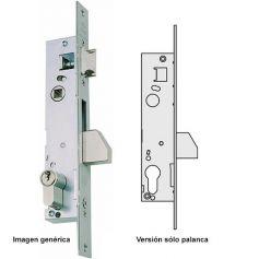Cerradura carpinteria metalica solo palanca serie 04040 20mm Cisa