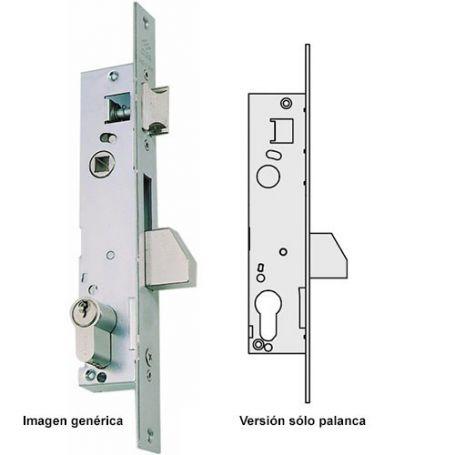 Cerradura carpintería metálica solo palanca serie 04040 25mm Cisa