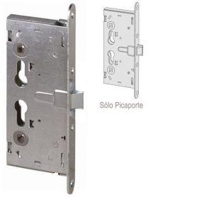 Cerradura de embutir cortafuego versión mecánica solo picaporte 65mm Cisa