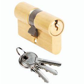 Cilindro Cisa Locking Line 30x30 laton europerfil