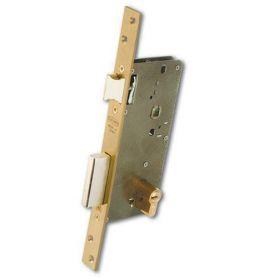 Cerradura Ezcurra de alta seguridad 700 laton con cilindro DS-15/60