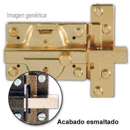 Cerrojo Ezcurra de seguridad 501 con cilindro exterior esmaltado