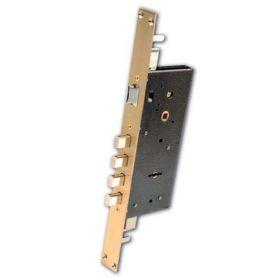 Cerradura Ezcurra de seguridad corta con borja 803B latón