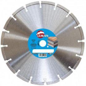 Disco diamante Leman corte hormigón láser 115