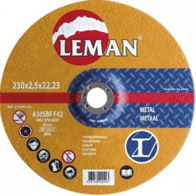 Disco de corte metal Leman 115 Serie Naranja