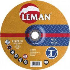 Disco desbaste metal Leman 115 Gama Naranja