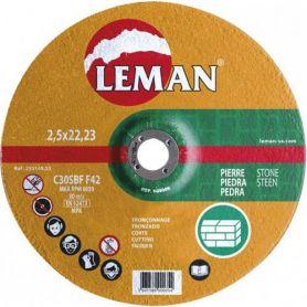 Disco de corte piedra Leman 115 Gama Naranja
